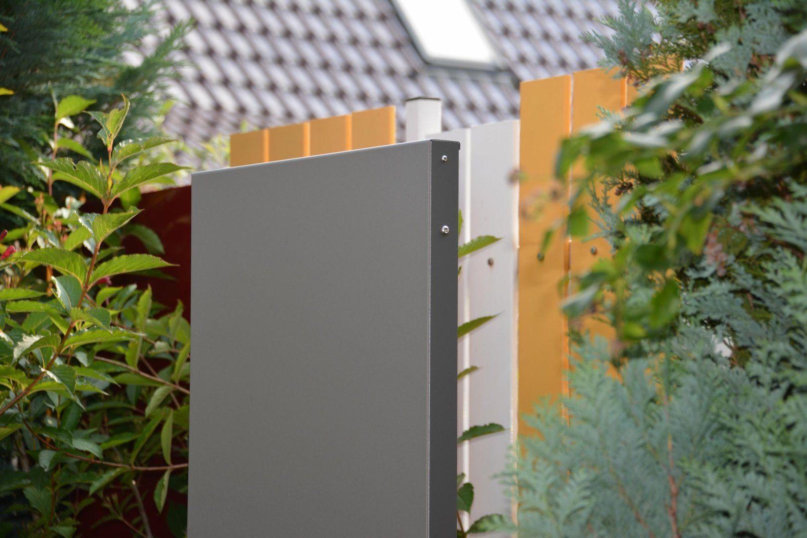 Stele Sichtschutz 160 Cm Hoch Und 10 Cm Breit Glasscheiben