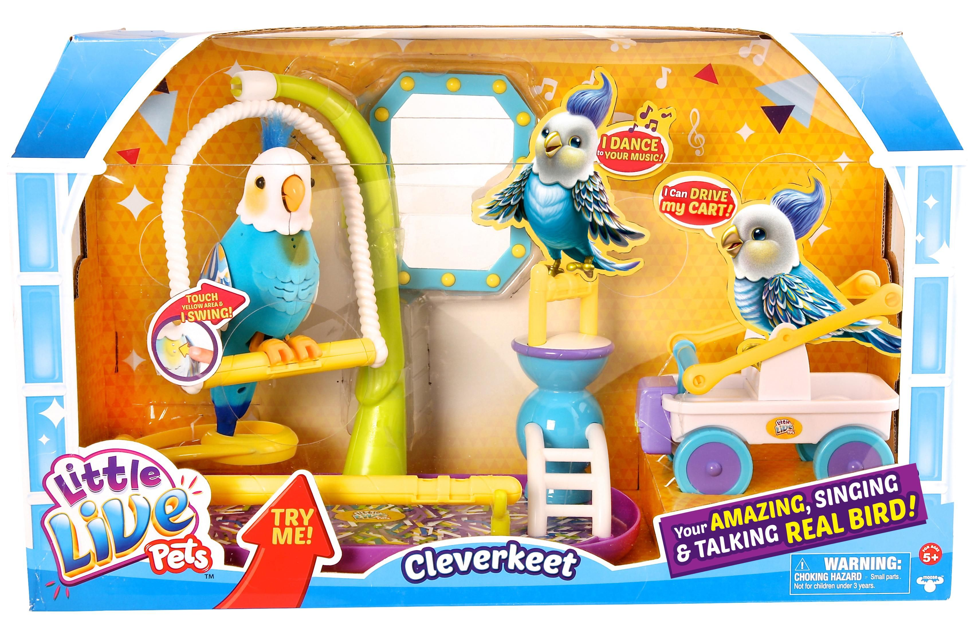 Little Live Pets Clever Keet Bird Amazon Co Uk Toys Games