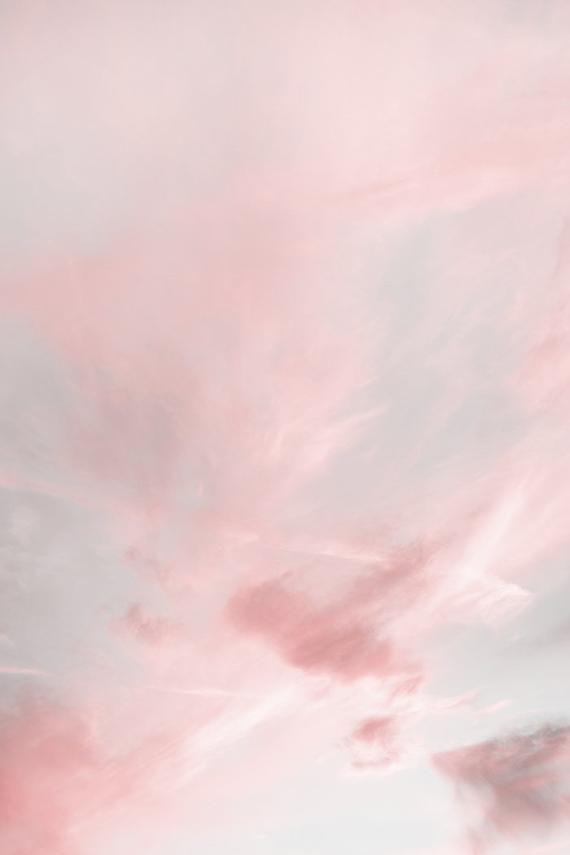 Cloud Art Print Nursery Decor Cloud Wall Art Clouds Print Sky Print Kids Wall Art Cloud Decor Gift For Wife Pastel Pink Print Digital Print