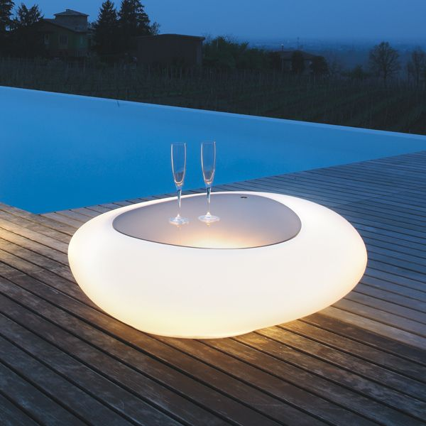 TONIN CASA - Kos illuminated cocktail table