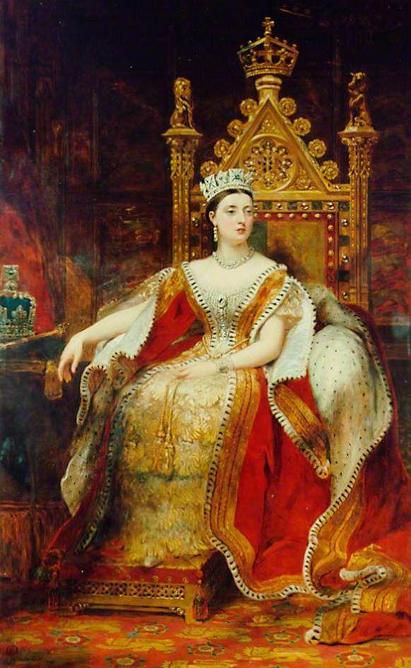 James Sant, R.A. - Queen Victoria (1819–1901) 1876.