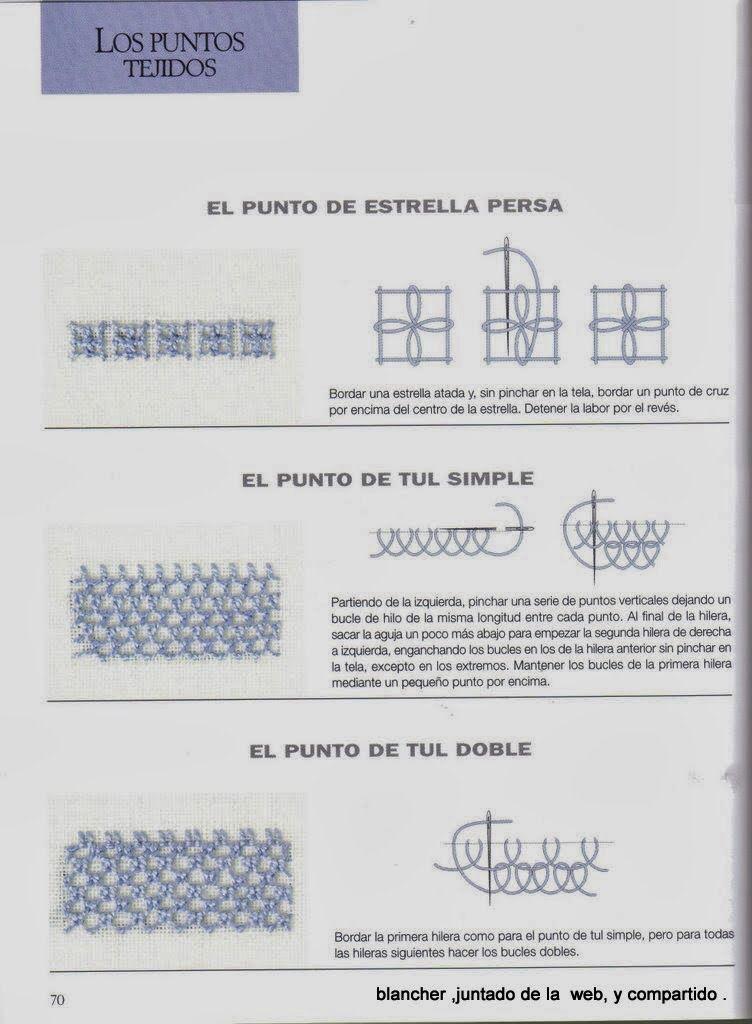Pin de Tatiana Barbosa en Técnicas Bordado | Pinterest | Bordado ...