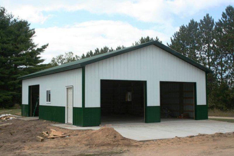 30x40 Garage Plans Designs Ideas 30x40 Pole Barn Pole Barn Shop