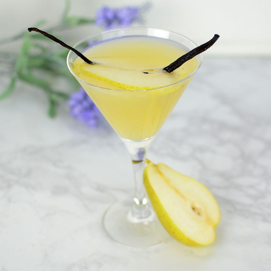 Pear & Vanilla Martini