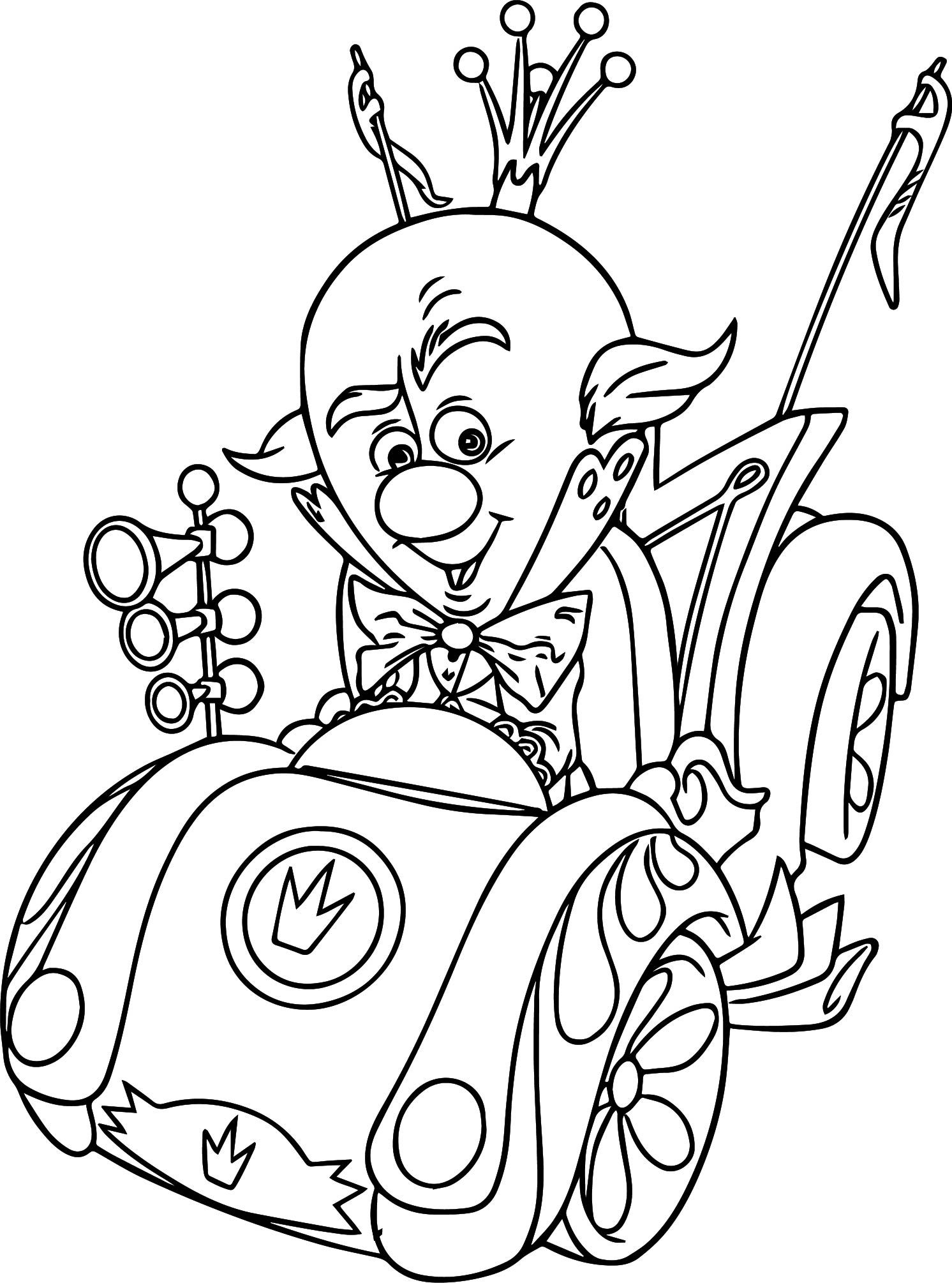 Disney Cars Coloring Pages The King - Dejanato