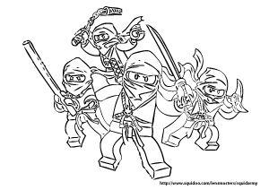 Lego Ninjago Coloring Pages | charlie | Pinterest | Lego ninjago