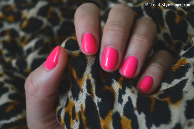 Neon Nails and Leopard / The-Lifestyle-Project.com