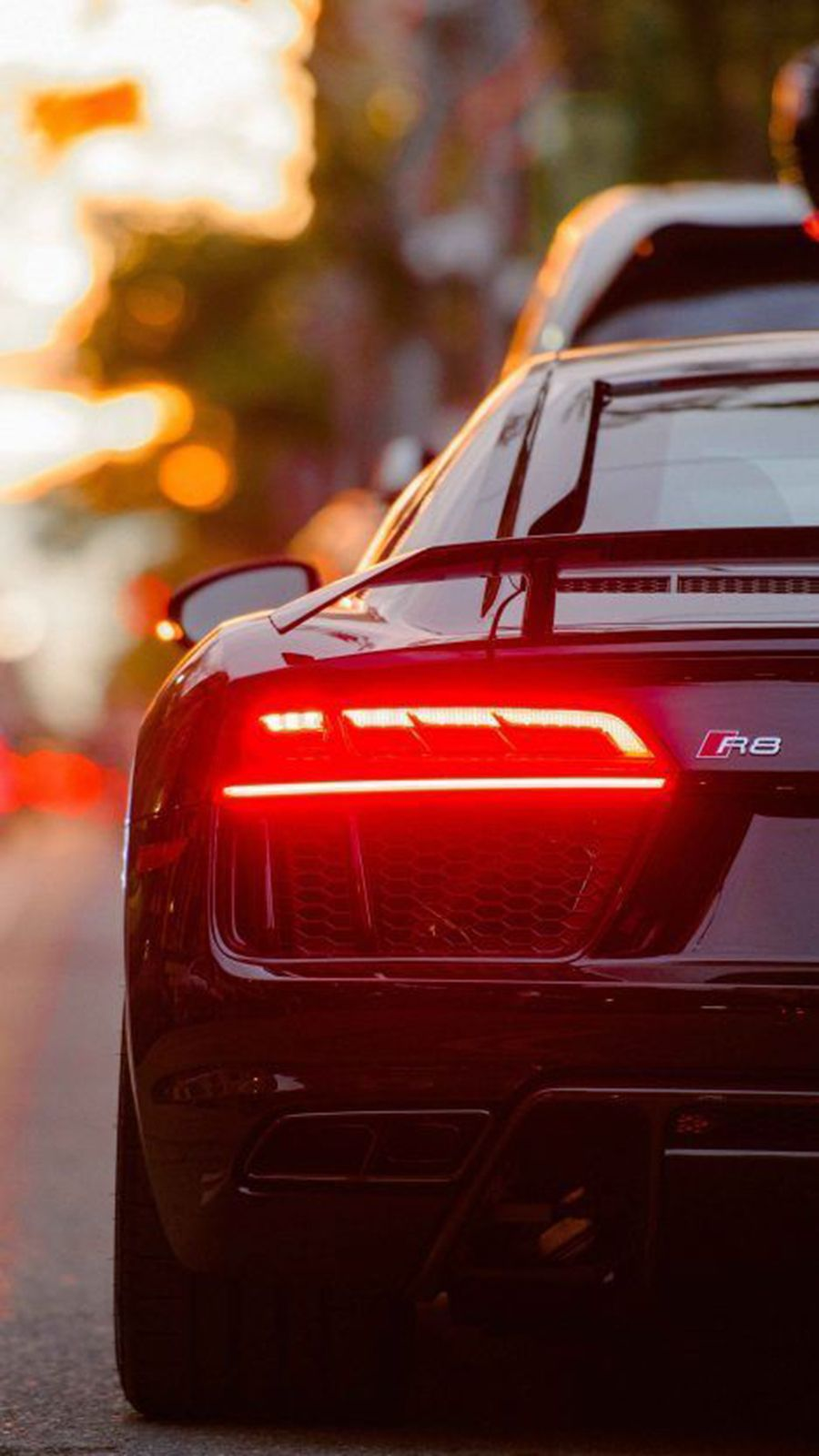 Back View Supercars Hd Wallpapers Free Download In 2020 Audi R8