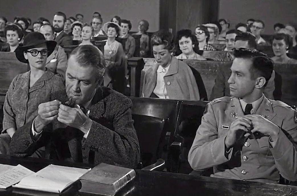 Lee Remick, James Stewart and Ben Gazzara in Anatomy of a Murder ...