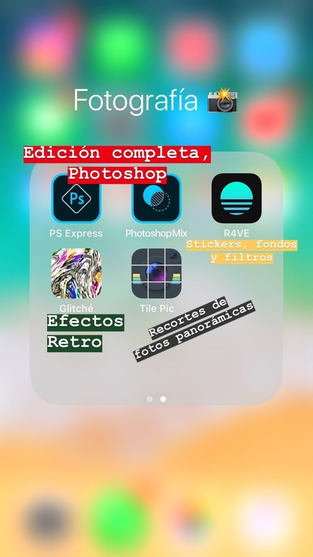 Buenas Aplicaciones Apps Fotos Editor De Fotos Fotografia