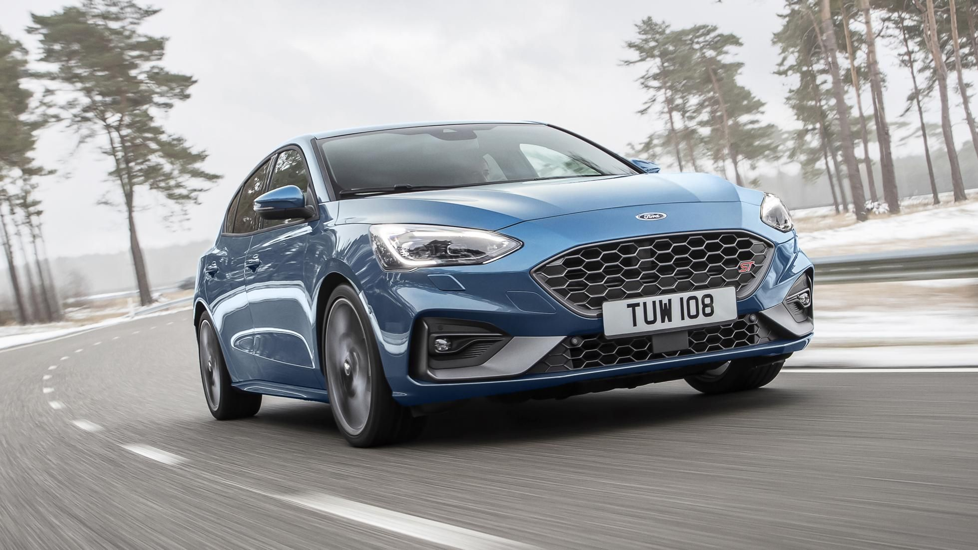 The New Ford Focus St Has More Torque Than A Type R Ford Focus New Ford Focus Ford