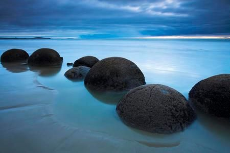 Moeraki Boulders near Oamaru