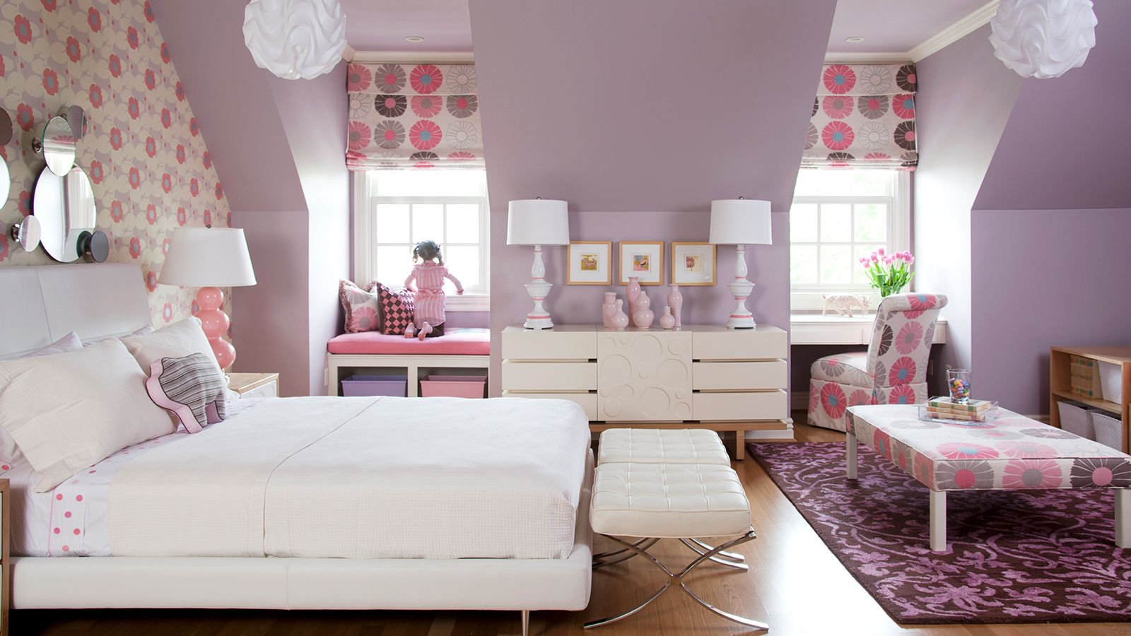 Function Driven Interior Design With Tobi Fairley Bedroom Wall