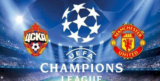 Manchester United Vs Cska Moscow English League English Premier