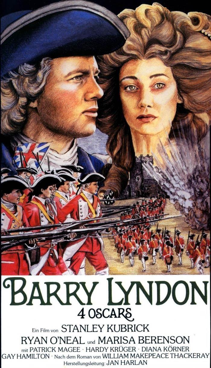 Stanley Kubrick Barry Lyndon Ryan O/'Neal movie poster print 6
