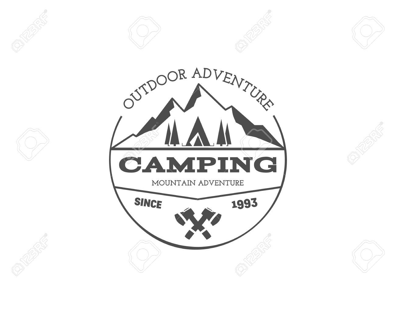 So much pileup vintage pro wrestling logos - Image Result For Retro Mountain Logo