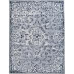 Saturn Austin Gray 7 ft. 10 in. x 10 ft. 3 in. Indoor Area Rug