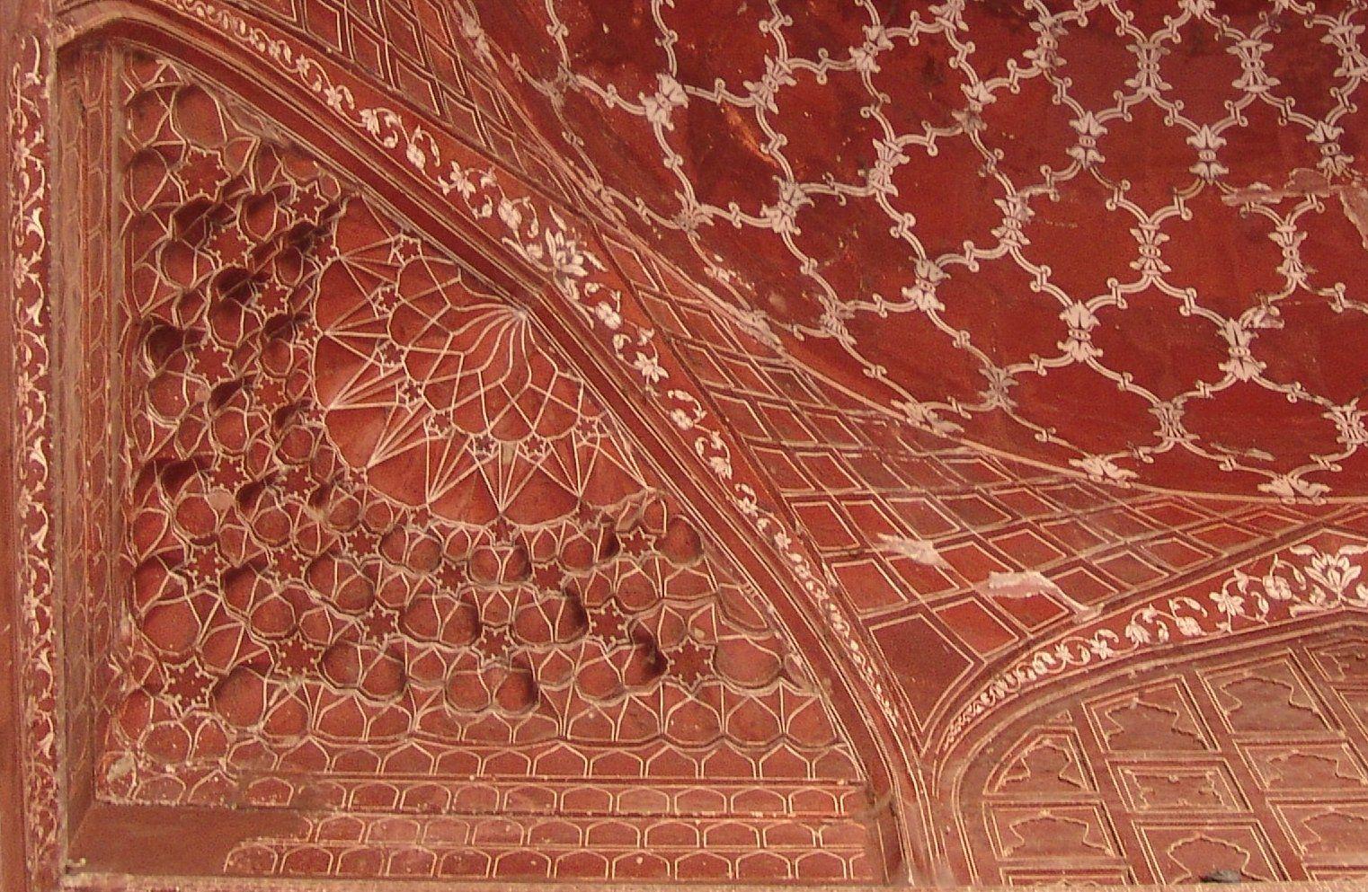 TajPaintedGeometry - Агра Тадж Махал | Тадж махал, Агра ...