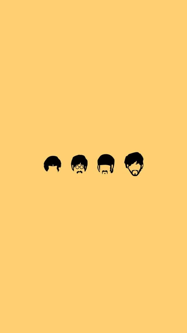 The Beatles Cartoon Iphone 5 Wallpapers And Backgrounds 640 X 1136