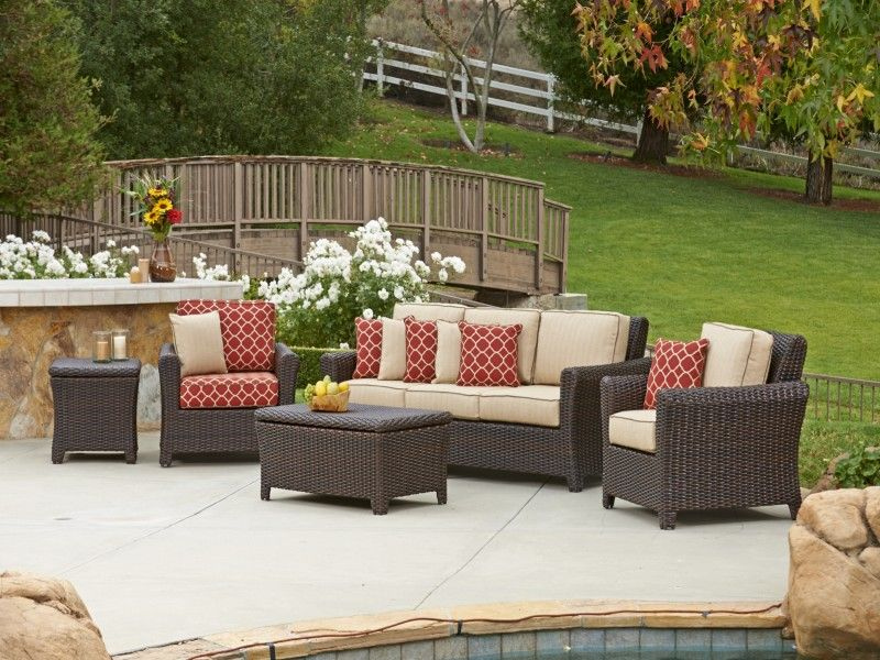 Tisdale Outdoor Wicker Furniture Collection by North Cape (NCI) Wicker