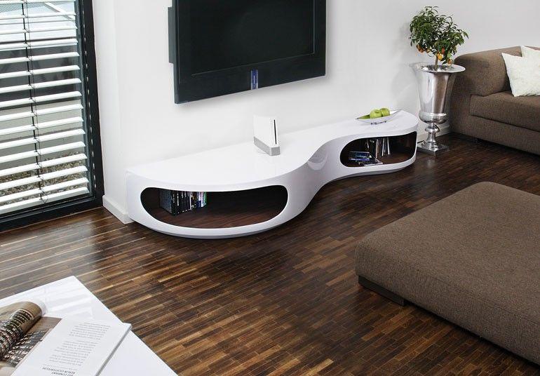 Lowboard design möbel weiss  Extravagant, aber dennoch pflegeleicht. Diesen Tipp haben wir auf ...