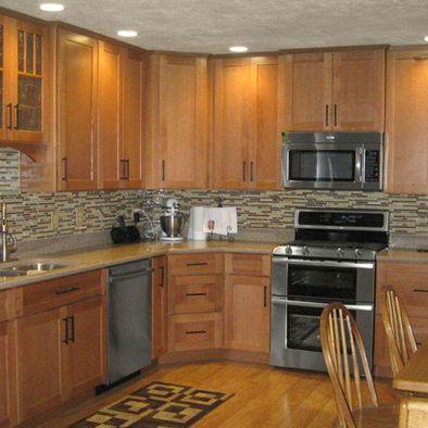 Cliqstudios Oak Kitchen Cabinets Kitchen Remodel