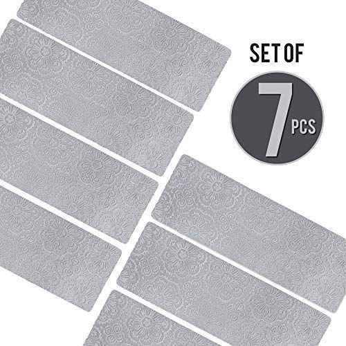 Best Designer Indoor Stair Mats Ultra Thin Microfiber Stair 640 x 480
