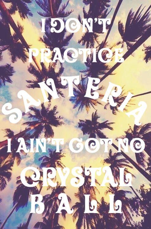 Santeria Sublime Lyrics Turned On Some Music Pinterest