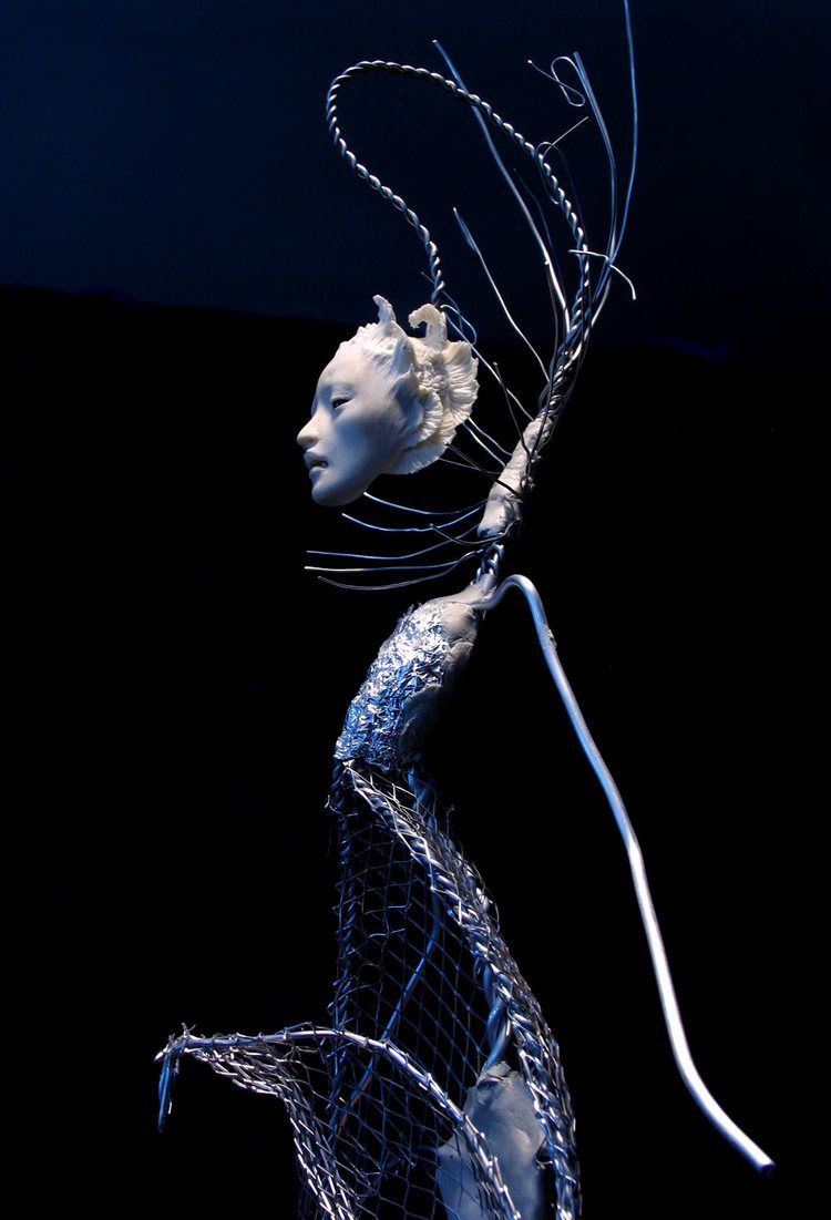 Armature In Aluminum Armature Wire With Kato Polyclay Head And
