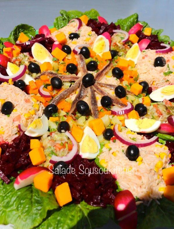 recette de salade cuisine marocaine food marocain pinterest ramadan food and salad. Black Bedroom Furniture Sets. Home Design Ideas