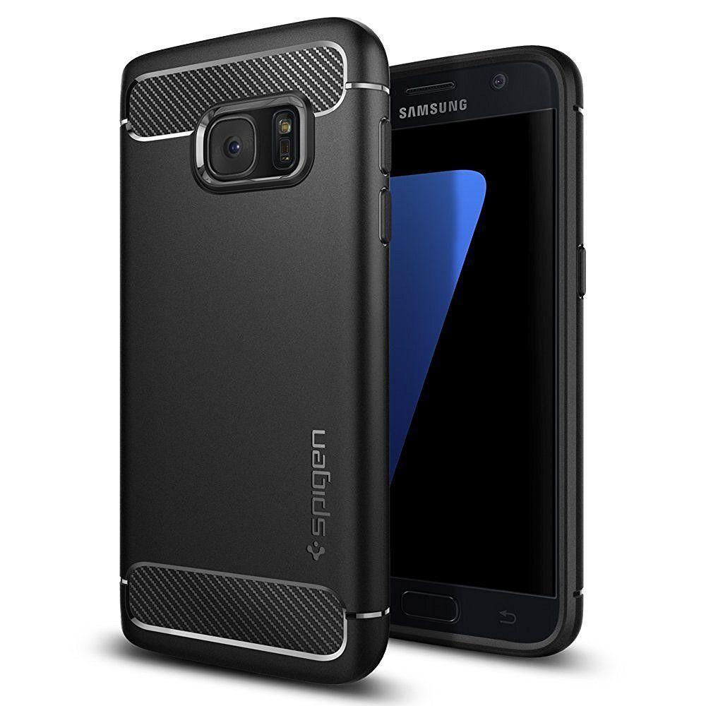 Spigen Samsung Galaxy S7 Schutzhulle Hulle Dunn Handyhulle Case Cover Tpu Bumper Samsung Samsung Galaxy S7 Case Schutzhulle