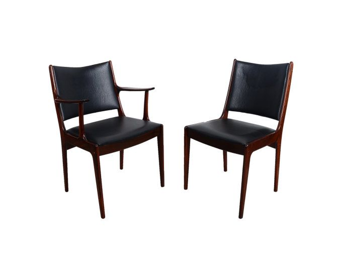 6 Rosewood Dining Chairs Johannes Andersen Uldum Mobler 7171 Danish Modern  by HearthsideHome6 Rosewood Dining Chairs Johannes Andersen Uldum Mobler 7171  . Rosewood Danish Dining Table And Chairs. Home Design Ideas