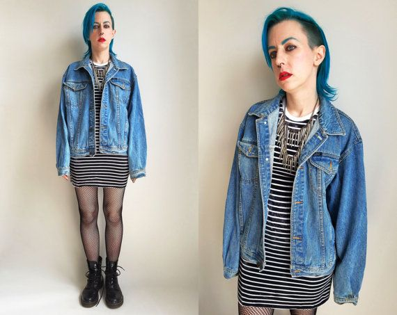 319d1e70c57 90s Clothes   90s Denim Jacket Pace Jean Jacket by trashedbytime ...