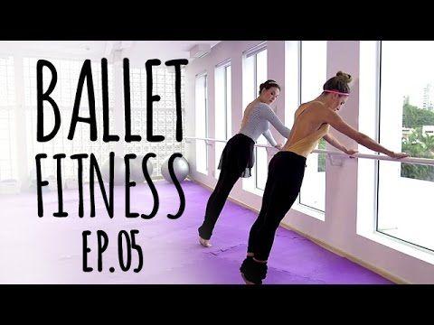 BALLET FITNESS Ep 05 Braços na barra #balletfitness