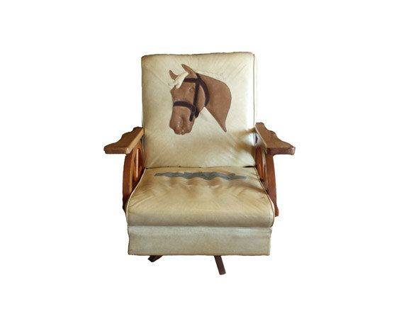 RESERVED for Wonkaman Vintage Wagon Wheel Chair - Western Rocking Chair,  Horse Ranch Furniture, Horse Chair Solid Oak Rocker, Wild West Seat - RESERVED For Wonkaman Vintage Wagon Wheel Chair - Western Rocking