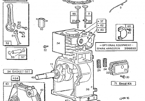 Briggs Stratton Engine Parts Diagram Briggs Stratton 3 Hp Tiller Engine Parts Model 080202 2305 01 Lawn Mower Maintenance Small Engine Engineering