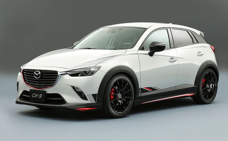 Tuned Mazda Models Revealed Ahead Of Tokyo Auto Salon Cx 3