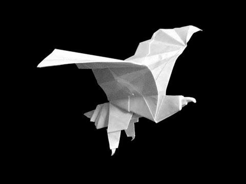 Easy Step By Tutorial On How To Fold This Origami Eagle Subscribe My Board Youtube Channel Receive New Weekly Tutorials German R