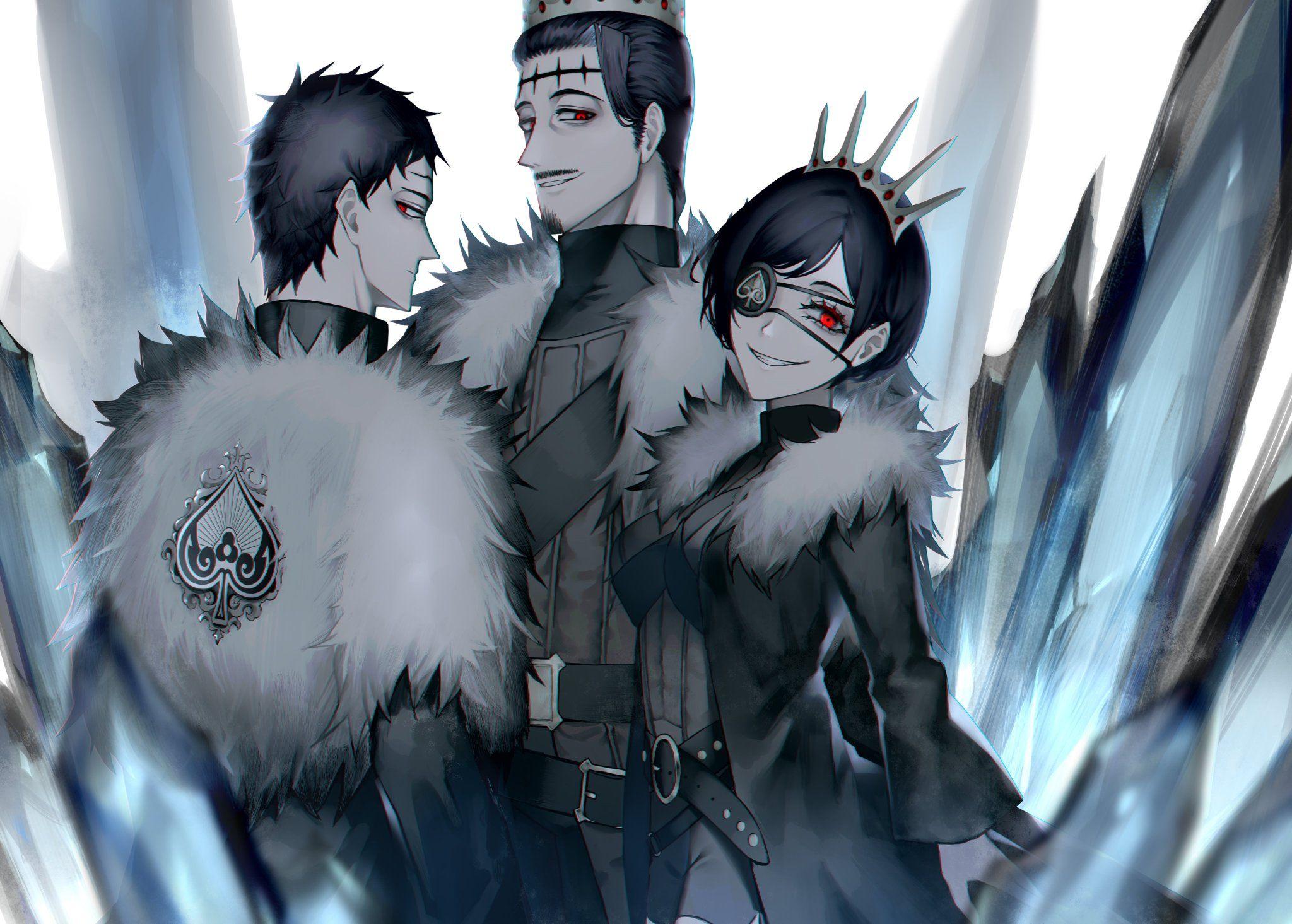 Sword art online wallpaper (1366x768). ふりっつ on Twitter   Black clover anime, Black bull, Clover