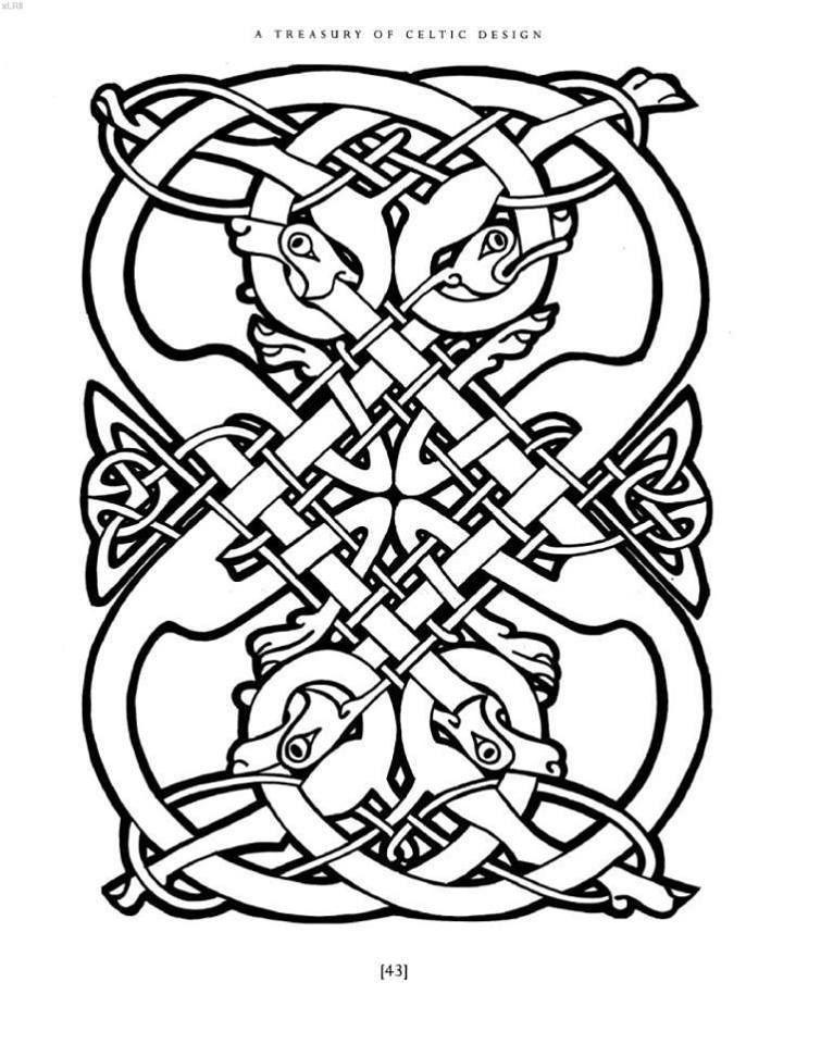 Courtney Davis A Treasury Of Celtic Design Https Www Facebook Com Pg Graphicartsornament Photos Tab Album Album I Celtic Designs Celtic Art Celtic Patterns