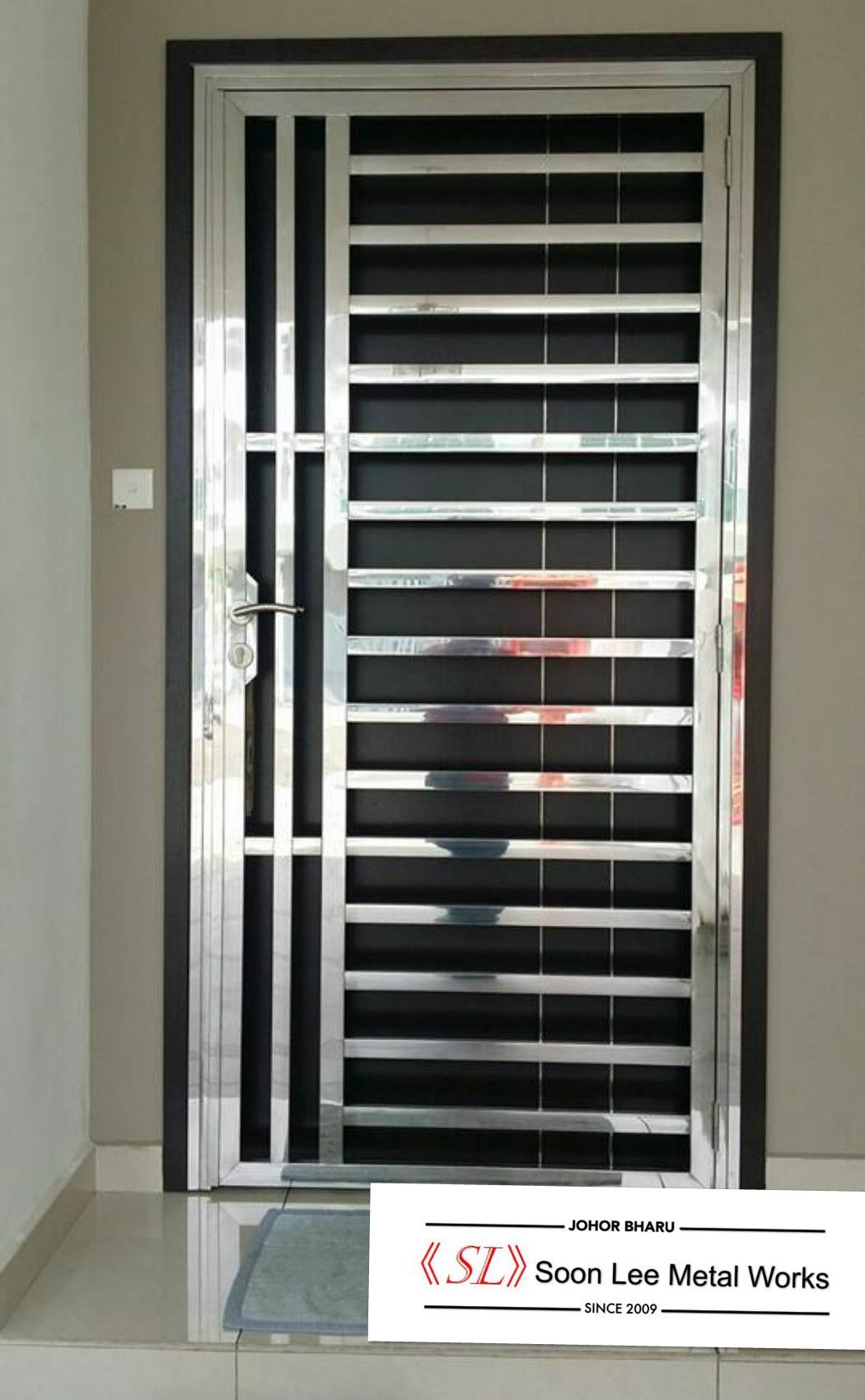 Stainless Steel Door Grill Steel Door Design Grill Door Design Window Grill Design