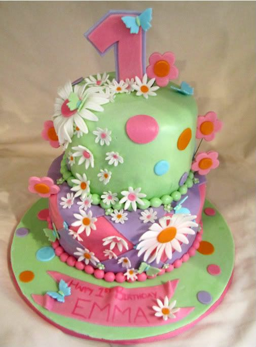 butterflies and flowers birthday cakes CakesOr Something Like