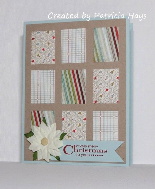 52 {Christmas} Card Throwdown – August sketch challenge »