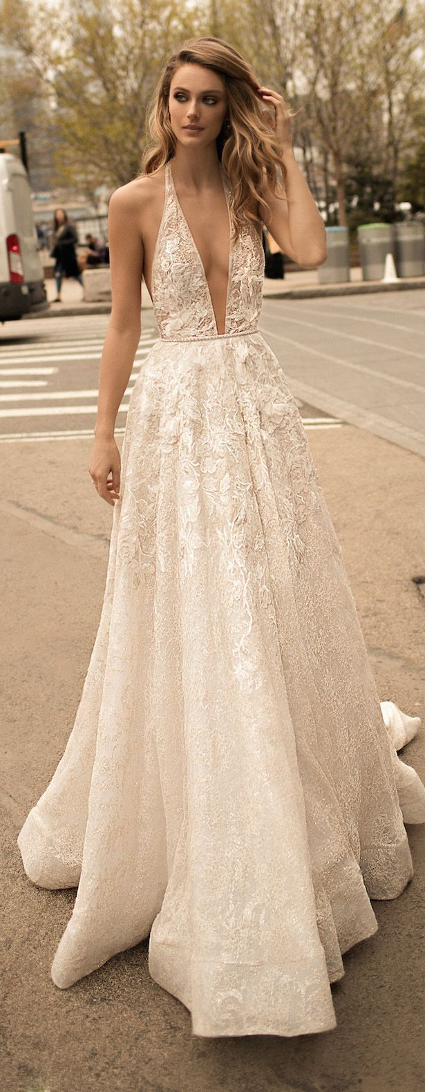 Berta wedding dress collection spring scroll pinterest