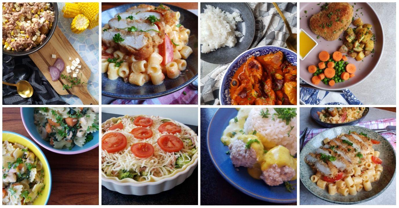 Madplan 19.04.20 Denne madplan deles hver lørdag på bloggen - det gør det nemt for dig og din familie at leve varieret og sammentid bruge mindre tid på planlægning.
