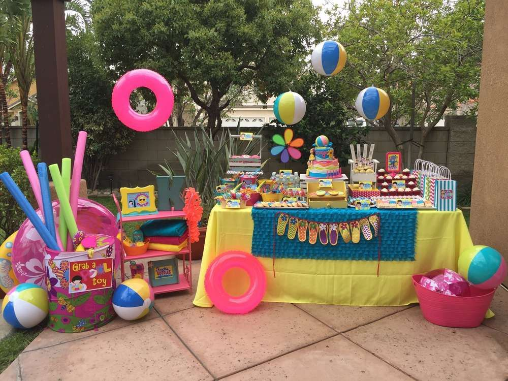 birthday summer parties teen