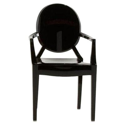 Kartell Louis Ghost ArmChair (Set of 2) Upholstery: Opaque ...