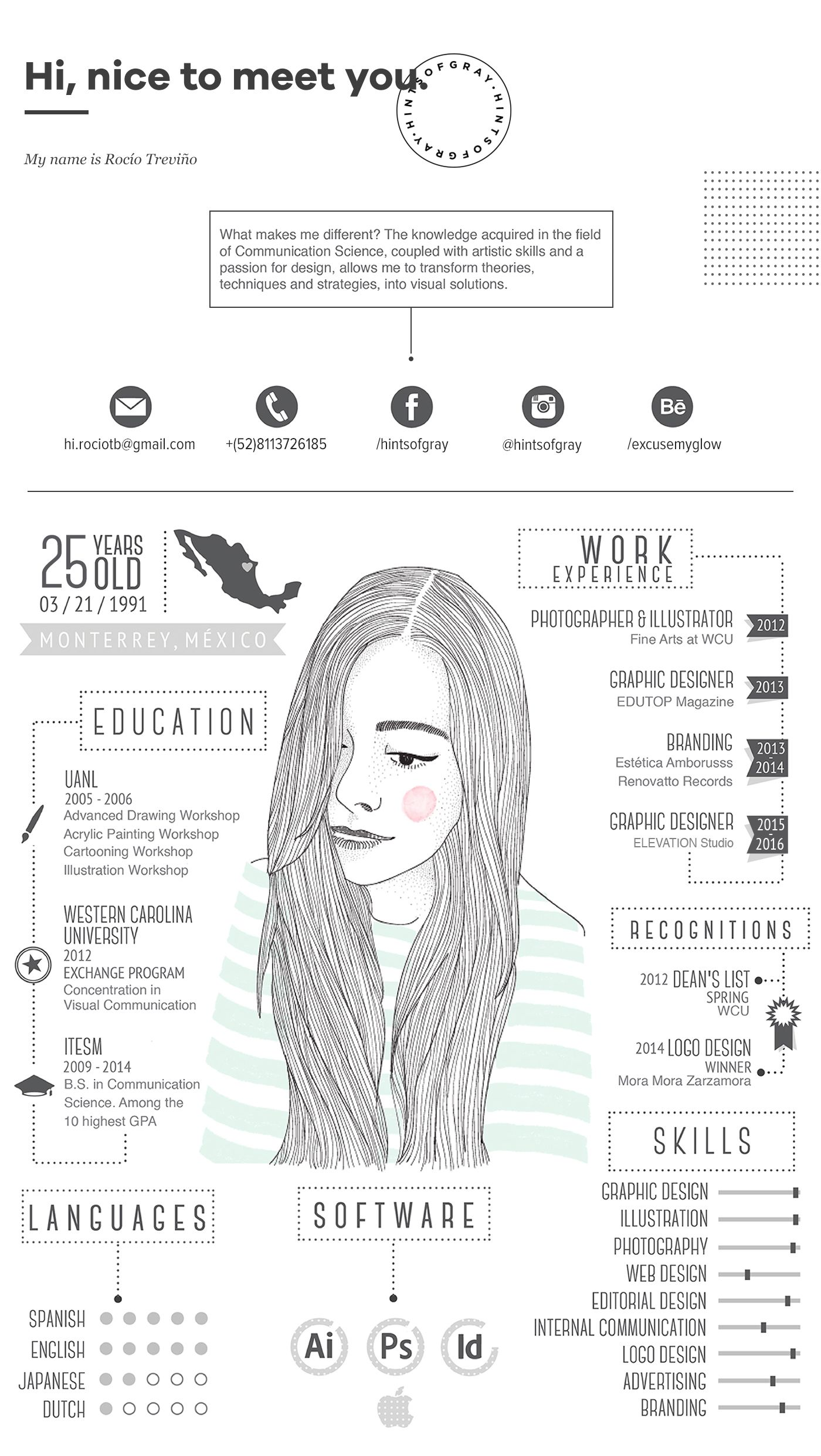 My Cv Resume My Cvresume On Behance  Cv  Pinterest  Behance Cv Ideas And .
