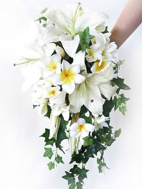 Cascade bouquet by Loveflowers. Find your perfect wedding flowers at www.loveflowers.com.au