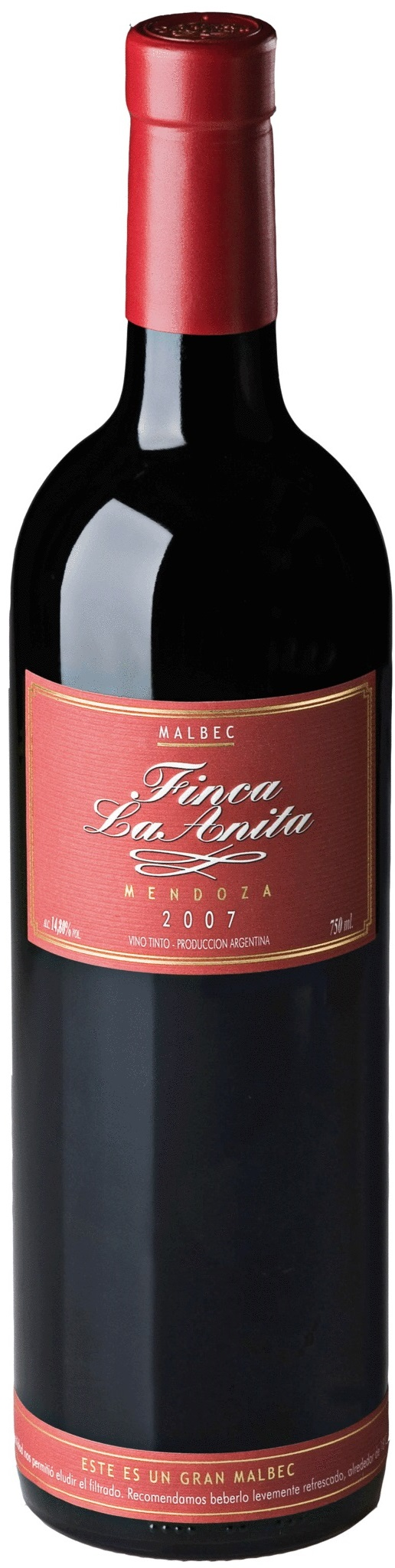 Finca La Anita Malbec 2014 Bodega Finca La Anita Lujan De Cuyo Mendoza Terroir Alto Agrelo Vinhos E Queijos Vinho Espumante Wine Vinhos